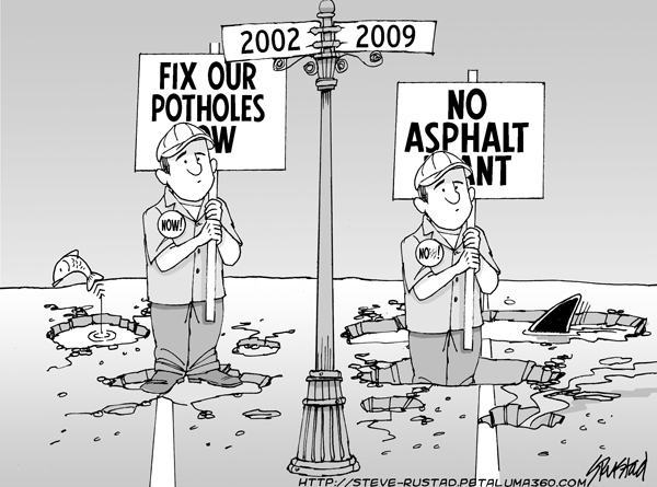 2009-08-06 Pothole Opposition REVISED