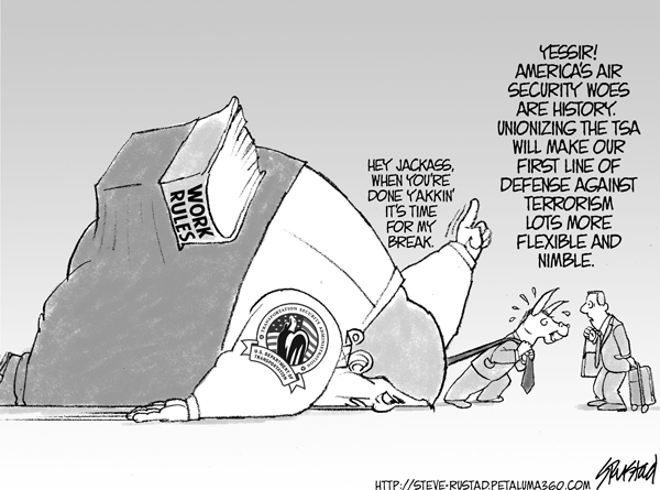 Uniionizing TSA